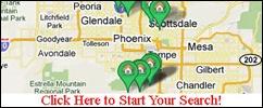 az custom mls map search